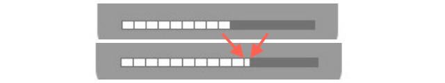 Ajuste mais fino ao Alterar o Controle de volume e Brilho