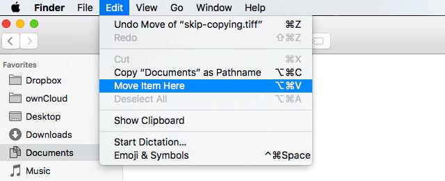 Copiar e Colar arquivos